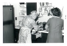 Grandma Thornton and Marcia