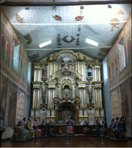 Interior of Old Cathedral